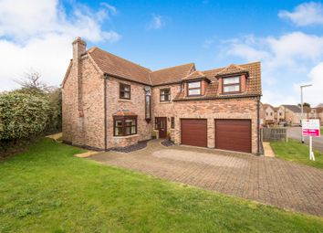 Thumbnail 5 bedroom detached house for sale in Astley Crescent, Scotter, Gainsborough