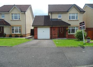 Thumbnail 3 bed detached house for sale in Woodhead Crescent, Airdrie