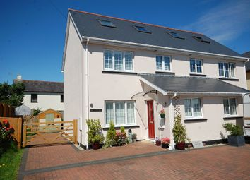 Thumbnail 3 bed semi-detached house for sale in Wooden, Saundersfoot
