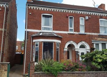 Thumbnail 3 bed semi-detached house to rent in Edward Road, Gainsborough
