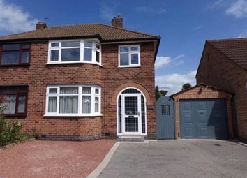 Thumbnail 3 bed semi-detached house to rent in Kings Gate, Leicester