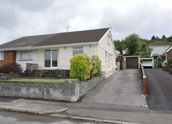 Thumbnail 3 bedroom semi-detached bungalow for sale in Waun Penlan, Pontardawe, Swansea