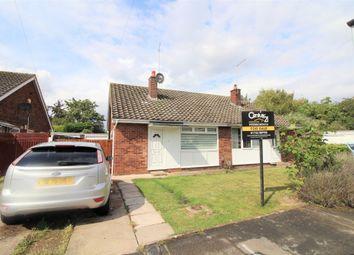 Thumbnail 2 bed bungalow for sale in Rowe Avenue, Orton Longueville, Peterborough
