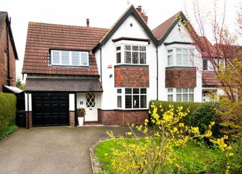Thumbnail 4 bed semi-detached house for sale in Goldieslie Road, Wylde Green, Sutton Coldfield
