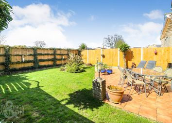 Thumbnail 4 bed link-detached house for sale in Parker Close, Brundall, Norwich