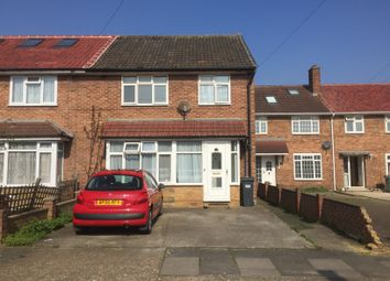 Thumbnail 4 bed end terrace house for sale in Newlands Close, Southall