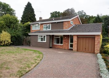 Thumbnail 4 bedroom detached house for sale in Wesley Close, Sleaford