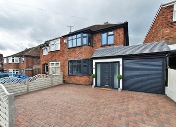 Thumbnail 3 bed semi-detached house for sale in Fernhurst Road, Leicester