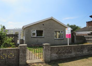 Thumbnail 2 bed detached bungalow for sale in London Road, Long Sutton, Spalding
