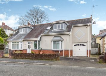 Thumbnail 3 bed detached bungalow for sale in Glan Yr Afon Road, Sketty, Swansea