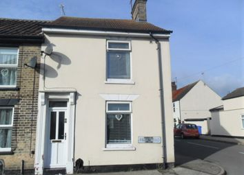 Thumbnail 2 bed end terrace house to rent in Park Road, Lowestoft