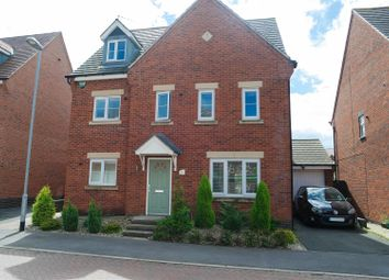 Thumbnail 5 bed detached house for sale in Linnet Close, Kirkby-In-Ashfield, Nottingham