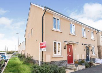 Thumbnail 2 bed semi-detached house for sale in Baron Way, Newton Abbot