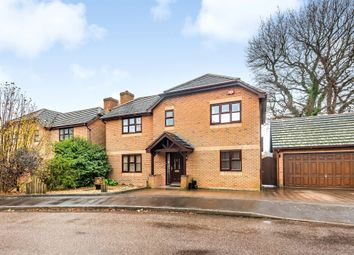 Thumbnail 4 bed detached house for sale in County Gardens, Fareham