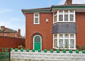 Thumbnail 3 bed semi-detached house for sale in Cumberland Street, Newcastle-Under-Lyme