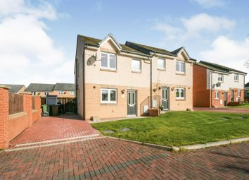 Thumbnail 3 bed semi-detached house for sale in Kilgannan Drive, Falkirk