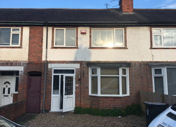 Thumbnail 3 bed town house to rent in Percy Road, Leicester