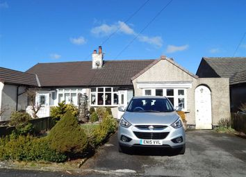 Thumbnail 3 bed semi-detached bungalow for sale in Central Drive, Buxton, Derbyshire