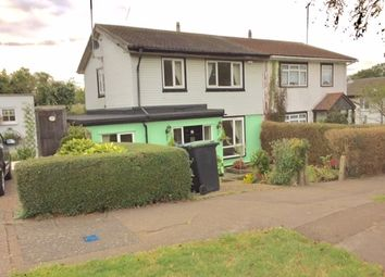 Thumbnail 4 bed semi-detached house to rent in Lindal Crescent, Enfield