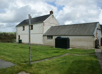 Thumbnail 3 bed detached house for sale in Llanpumsaint, Carmarthenshire