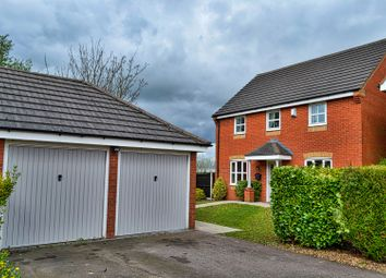 Thumbnail 4 bedroom detached house for sale in Minnie Close, Stoke-On-Trent