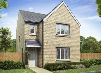 "Thumbnail 3 bedroom detached house for sale in ""The Hatfield"" at Crosland Road, Oakes, Huddersfield"