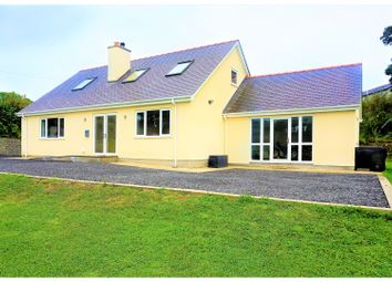 Thumbnail 3 bed detached bungalow for sale in Marianglas, Benllech