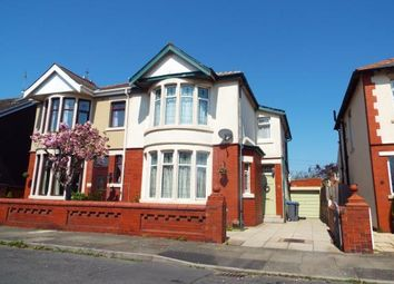 Thumbnail 3 bed semi-detached house for sale in Kingston Avenue, Blackpool, Lancashire