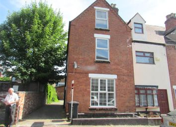 Thumbnail 4 bed end terrace house to rent in Heath Street, Tamworth