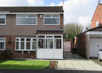 Thumbnail 3 bed semi-detached house for sale in Sherman Drive, Rainhill