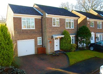 Thumbnail 4 bed detached house for sale in Richmond Close, Frimley, Camberley