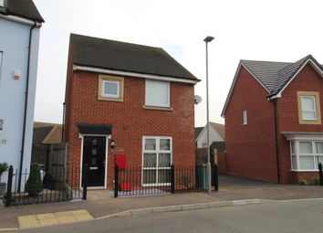 Thumbnail 3 bed detached house to rent in Cranmore Circle, Broughton, Milton Keynes