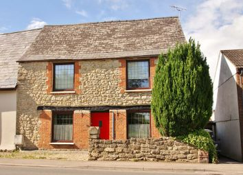 Thumbnail 4 bedroom semi-detached house to rent in High Street, Purton, Wiltshire.