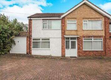 Thumbnail 4 bedroom link-detached house for sale in Thorpe Drive, Wigston, Leicester