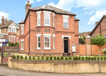 Thumbnail 4 bed detached house for sale in Wodeland Avenue, Guildford, Surrey