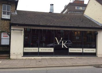Thumbnail Restaurant/cafe for sale in Victoria Road, Chelmsford