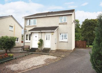 Thumbnail 2 bed flat for sale in 18 Alder Place, Culloden, Inverness