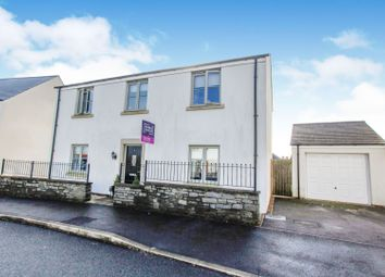 Thumbnail 4 bed detached house for sale in Heathland Way, Coed Darcy