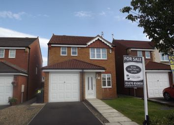3 bed detached house for sale in Parkside Court, Ashington NE63