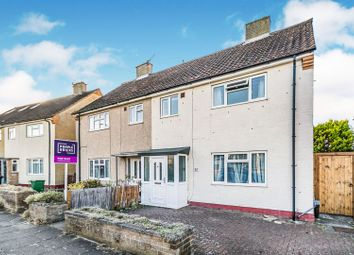 Thumbnail 3 bed semi-detached house for sale in Hereford Way, Chessington