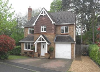 Thumbnail 5 bed detached house to rent in Further Vell-Mead, Church Crookham, Fleet