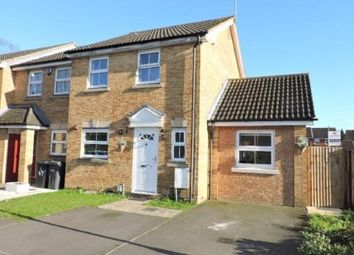 Thumbnail 3 bedroom end terrace house for sale in Villiers Close, Luton, Bedfordshire