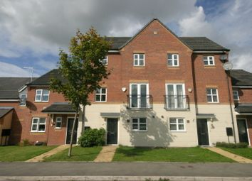 Thumbnail 4 bed town house for sale in Panama Road, Burton-On-Trent, Staffordshire