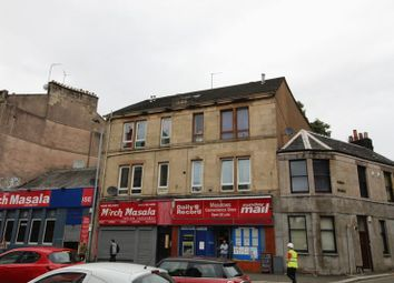 Thumbnail 1 bed flat for sale in Wellmeadow Street, Paisley