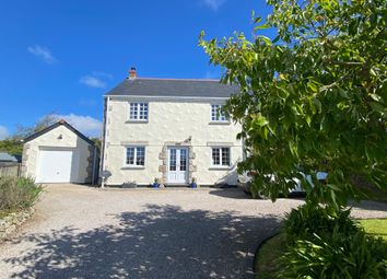 Thumbnail 4 bed detached house for sale in Churchway, Madron, Penzance