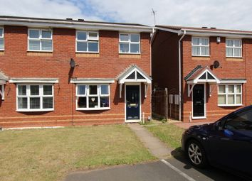 Thumbnail 2 bed semi-detached house to rent in Exeter Drive, Tamworth