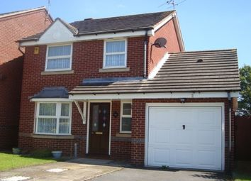 Thumbnail 3 bed detached house to rent in Squirrel Way, Loughborough