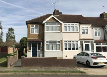 Thumbnail 3 bed end terrace house for sale in Felstead Road, Collier Row, Romford