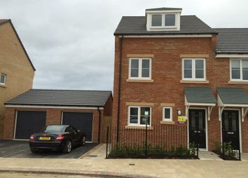 Thumbnail 3 bed town house to rent in Kirkfields, Sherburn Hill, Durham