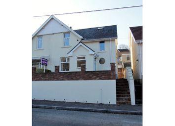 Thumbnail 3 bed semi-detached house for sale in Afan Road, Duffryn Rhondda